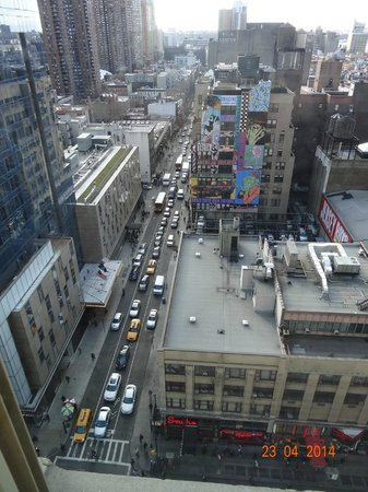 Row NYC Hotel : 45th Street, vista do apartamnento
