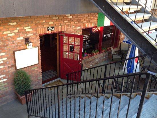 Trattoria Dionisia: Entrance