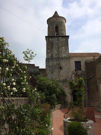 Conca dei Marini, Włochy: hotel entrance
