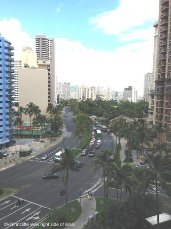 Waikiki Marina Resort at the Ilikai: Right side of our room of our view