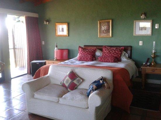 Hotel Art & Spa Las Cumbres: un dormitorio super especial!!! una vista unica!!!