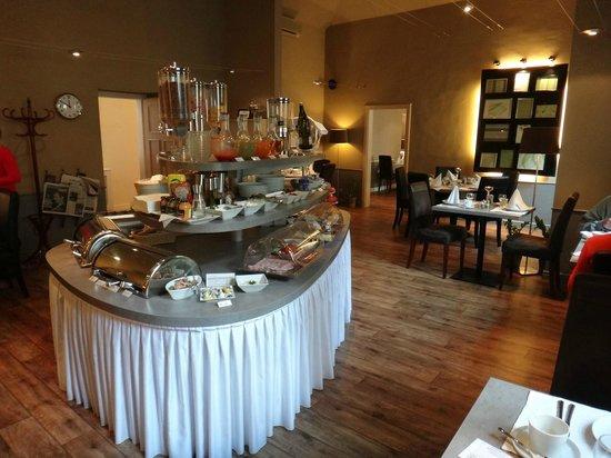 Unitas Hotel: Café da manhã - Detalhe do Buffet