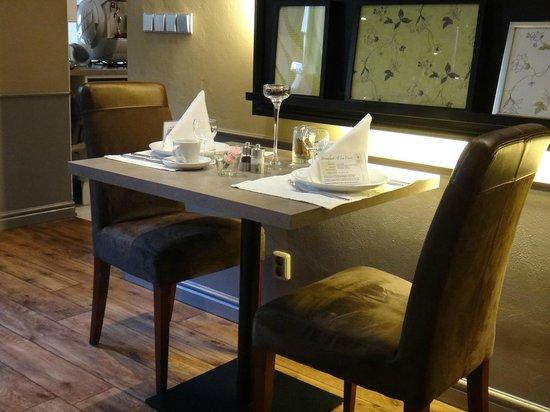 Unitas Hotel: Capricho na arrumação das mesas