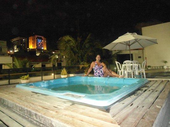 Praiamar Natal Hotel & Convention: Noite agradável no terraço