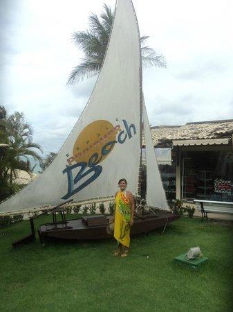 Praiamar Natal Hotel & Convention: Em frente ao hotel