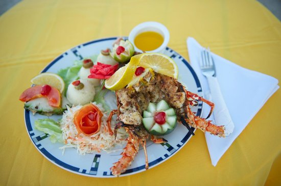 Tropical Paradise Restaurant: Lobster Meal