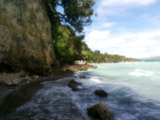 Microtel Inn & Suites by Wyndham Boracay: walk to main beach from the hotel