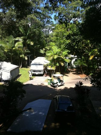 Rainforest Holiday Village : Caravan Sites