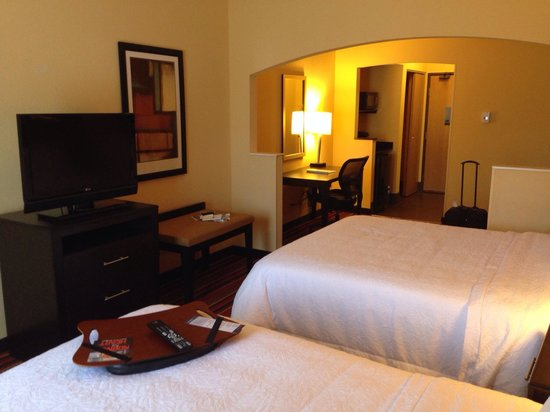 Hampton Inn Glenwood Springs : Very spacious room