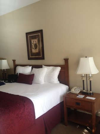 BEST WESTERN PLUS Lodge at River's Edge: Our room #309