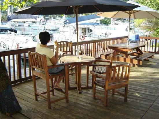 Nanny Cay Marina & Hotel: Ice Cream Shop at Nanny Cay