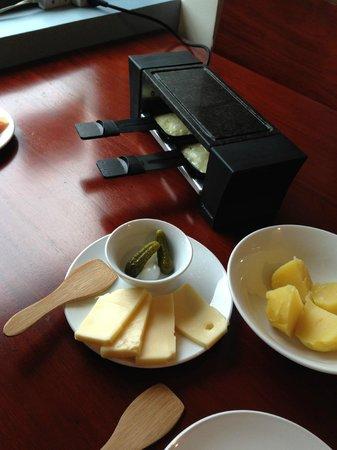 Cafe de Geneve: Raclette