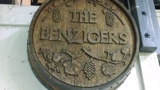 Benziger Family Winery: oak barrell