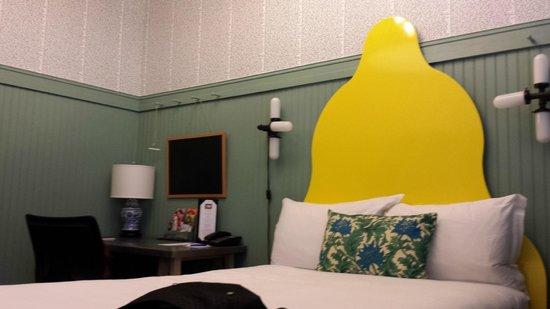 Hotel Triton: No quarto