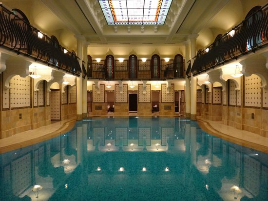 Spa piscina principal picture of corinthia hotel for A list salon budapest