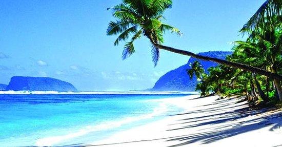 Samoa: Saleapaga Beach, Upolu