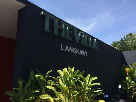The Villa Langkawi: The hotel facade