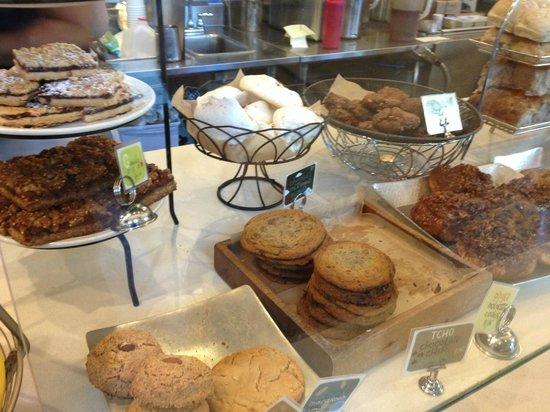 Flour Bakery & Cafe: Just a few of the treats!