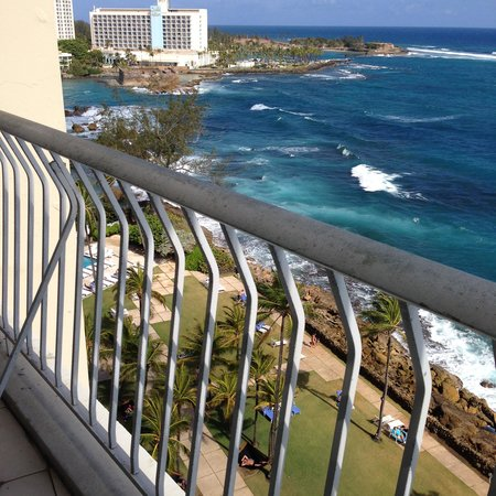 The Condado Plaza Hilton: View from room