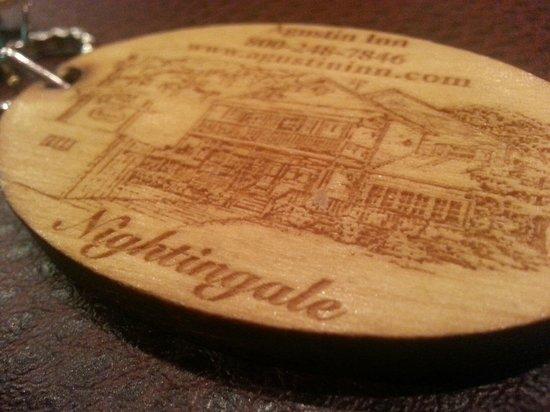 Agustin Inn: room key
