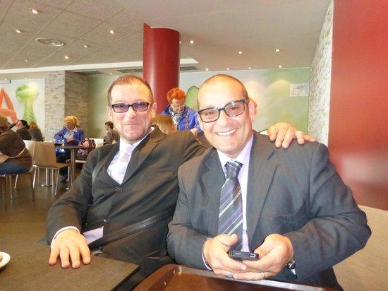 Amalfi Coast Destination Tours Company : Our friends, Roberto and Daniele