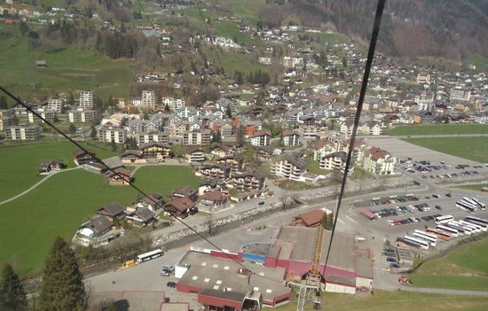 Mount Titlis: View from the top of Engelberg