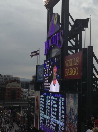 Coors Field: View from the Rockpile, May 2014