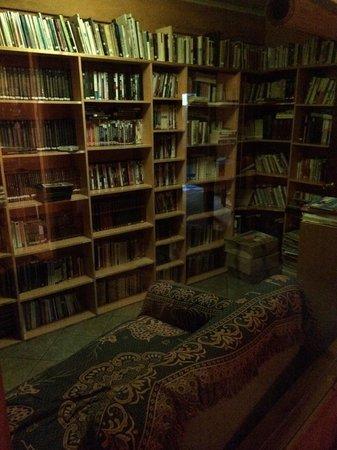 Isla Morena: Library, amazing!