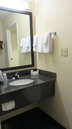Fairfield Inn & Suites Savannah Airport: Sink - outside the bathroom
