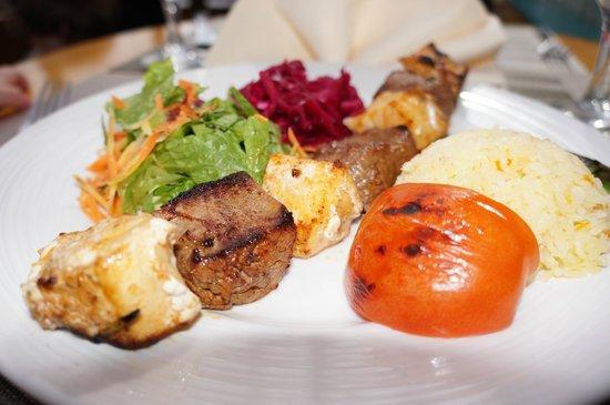 Istanbul Kebab House: Surf & Turf Kebab