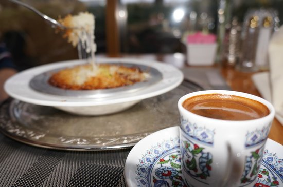 Istanbul Kebab House: Kunefe & Turkish coffee