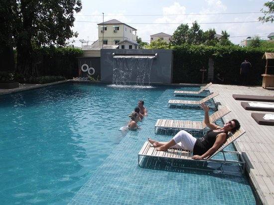 Vismaya Suvarnabhumi Resort: Relaxing after a long flight