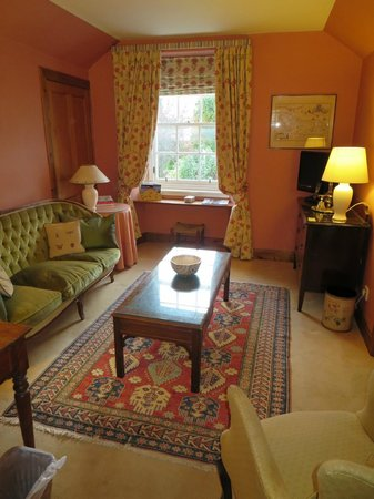 Old Fishergate House: The sitting area of our bedroom