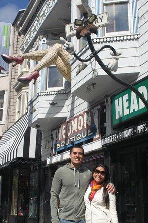 Haight Street: As famosas pernas