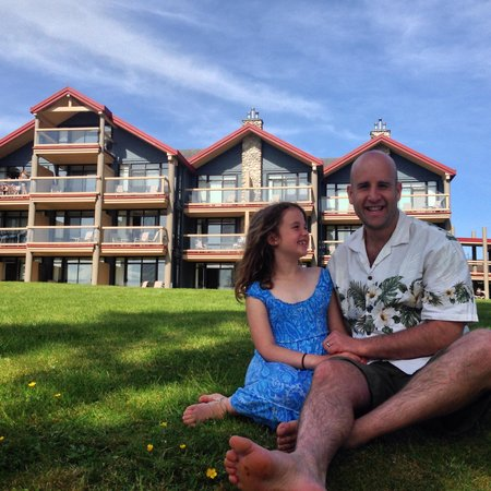 Best Western Tin Wis Resort : Loved our daddy daughter time!