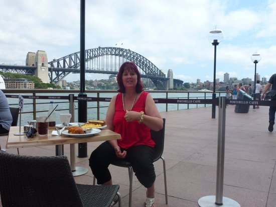 Ibis Sydney Darling Harbour : b/fast on my b/day, kings wharf