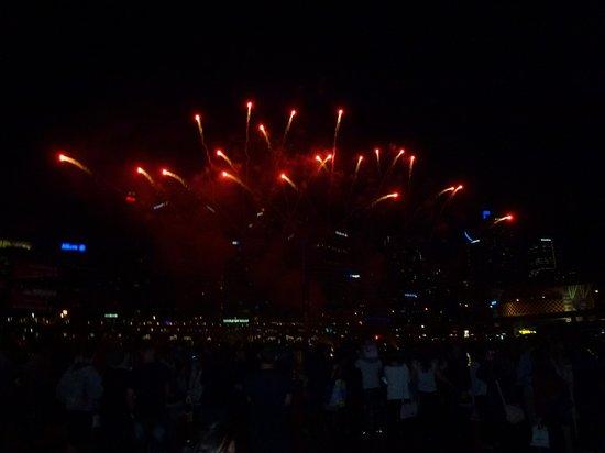 Ibis Sydney Darling Harbour: darling harbour fireworks