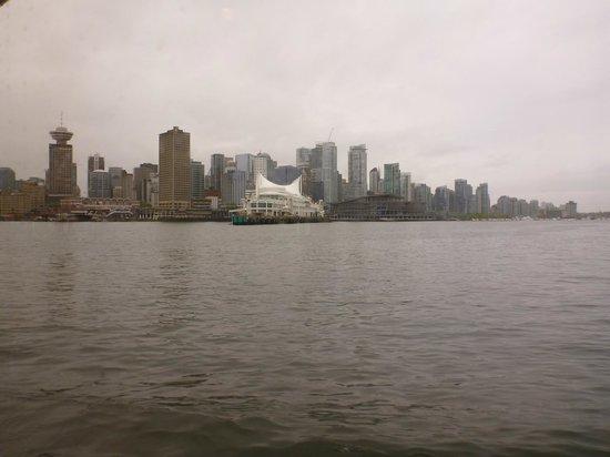 TransLink Seabus: 船内からの景色