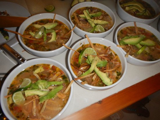 Chile Verde : Sopa De Lima