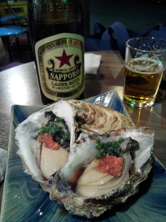 Asakusa : Oysters and beer