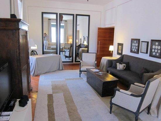 Parador de Turismo de La Granja: Living room