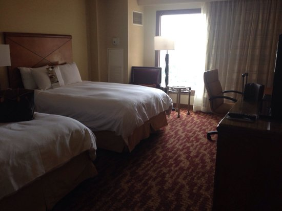 San Antonio Marriott Rivercenter : Double room