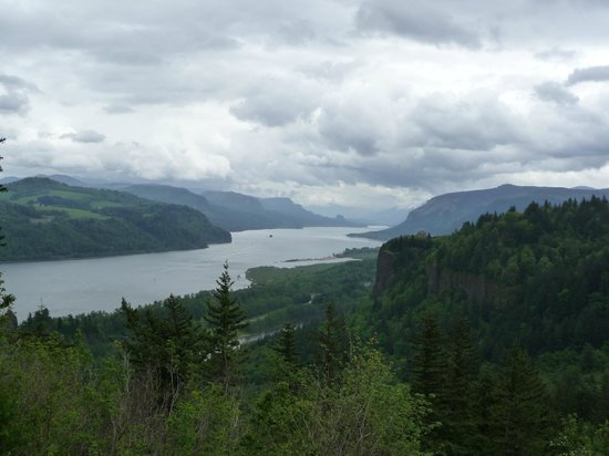 Columbia River Gorge National Scenic Area : Overlook at the Gorge