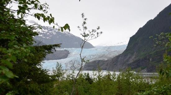 Mendenhall Glacier Visitor Center : Mendenhall Glacier