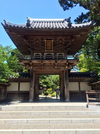 Entrance to the japanese tea garden picture of japanese for Japanese garden entrance