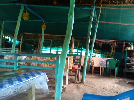Tiger Ranch: the dining hall