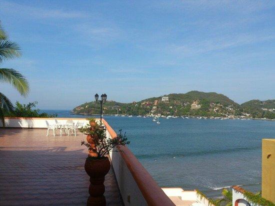 Casa Sun & Moon : Vista desde una terrasa del hotel