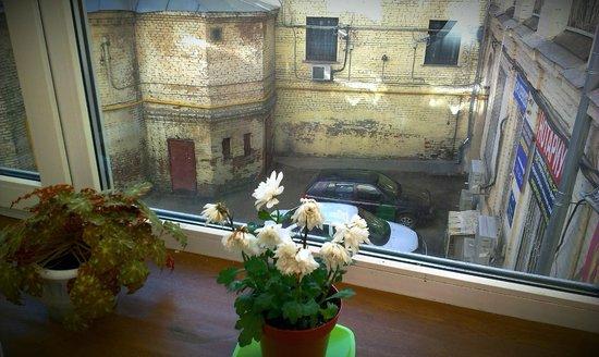 Ascet Hotel: вид из окна