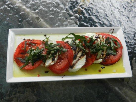 The Groveland Hotel: Caprese Salad (with Baslamic Reducton)