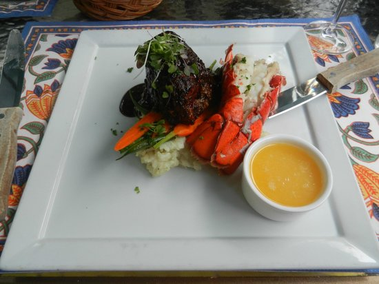 The Groveland Hotel: Surf and Turf